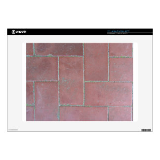Old brick footpath background decal for laptop