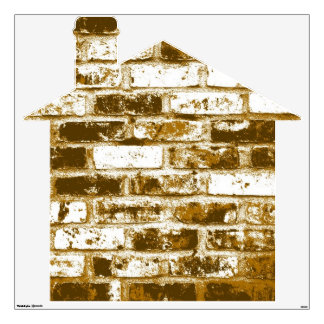 Old Brick House 2 Wall Decal