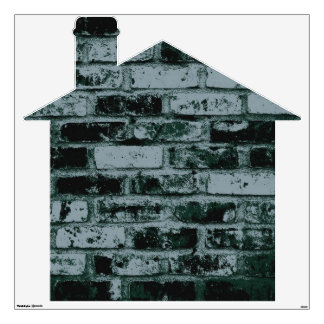 Old Brick House 4 Wall Sticker
