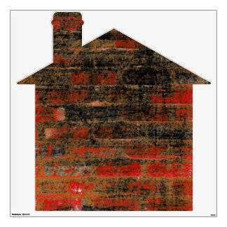 Old Brick House Wall Decal
