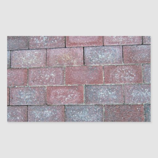 Old Brick Pavement Background Stickers