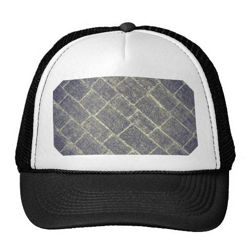 Old Brick Stone Design. Nonsymmetric Stone Wall Hat