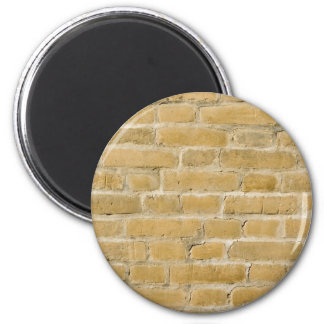 Old brick wall 2 inch round magnet