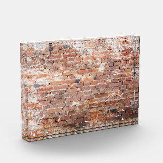 Old Brick Wall Acrylic Award