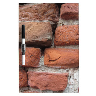 Old brick wall background dry erase board