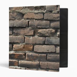 Old Brick Wall Binder