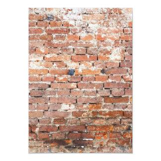 Old Brick Wall Card