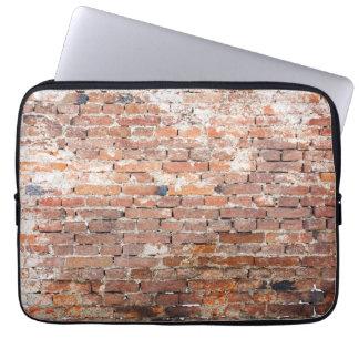 Old Brick Wall Computer Sleeves