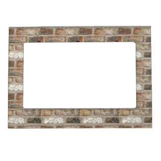 Old Brick Wall Magnetic Picture Frame