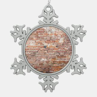 Old Brick Wall Ornament