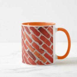 Old brick wall pattern coffee mug