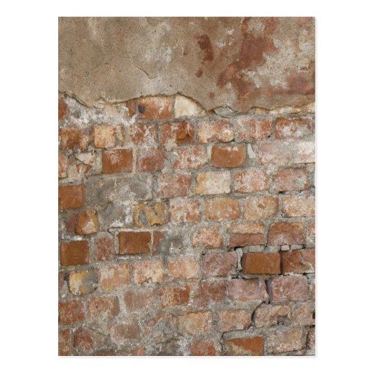 Old Brick Wall Postcard