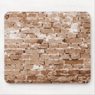 Old Brick Wall Texture Mouse Pads