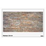 Old brick wall texture wall sticker