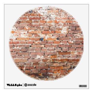 Old Brick Wall Wall Sticker