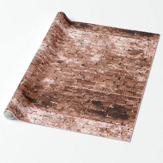 Old Brick Wall Gift Wrapping Paper