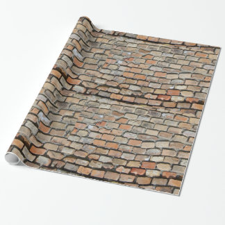 brick wrapping paper