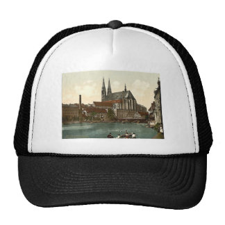 Old Bridge and St. Peter's Church, Gorlitz, Silesi Trucker Hat
