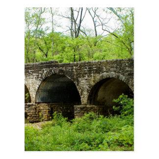 Old Bridge at Cuivre River Postcard