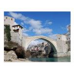 Old Bridge in Mostar Post Card