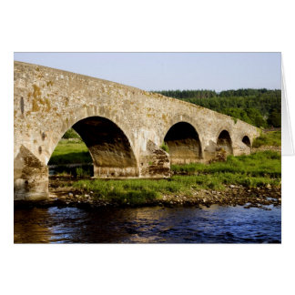 Old Bridge on the River Suir in Ireland Card