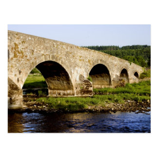Old Bridge on the River Suir in Ireland Postcard