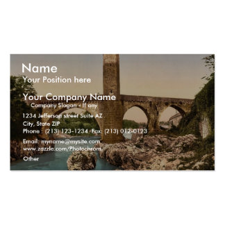 Old bridge, Orthes (i.e., Orthez), Pyrenees, Franc Double-Sided Standard Business Cards (Pack Of 100)