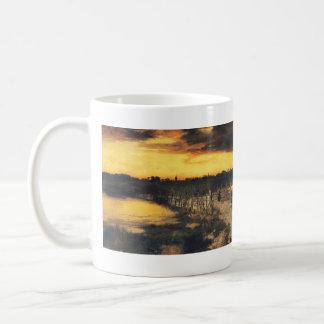Old Bridge Over Hook Pond - 1907 Coffee Mug