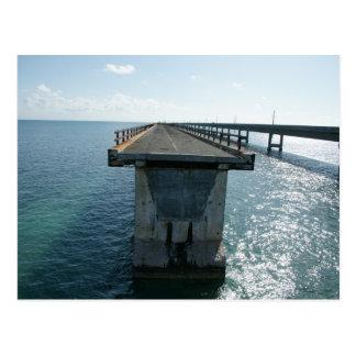 old bridge postcard