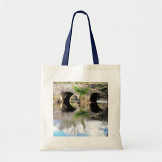 Old Bridge - Reflection Budget Tote Bag