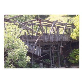 Old Bridge Trading Card Large Business Cards (Pack Of 100)