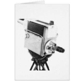 Old Broadcast TV Camera TK Card