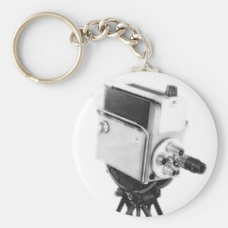 Old Broadcast TV Camera TK Keychain