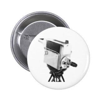 Old Broadcast TV Camera TK Pinback Buttons