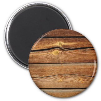 Old brown wooden wall design magnet