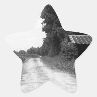 Old Building Barn in North Carolina Star Sticker