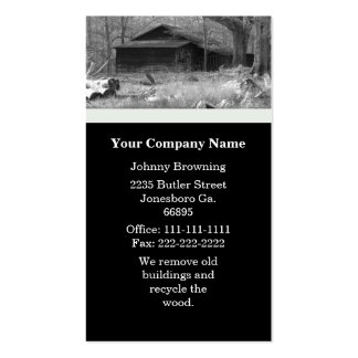 Old Building Business Card