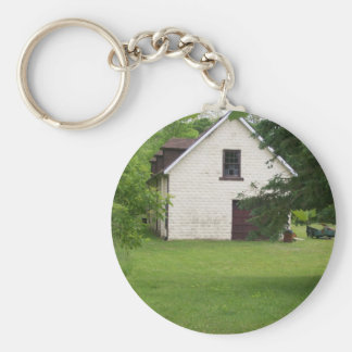 Old Building Keychain