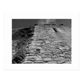 Old building. Stone Wall and Sky. Post Cards