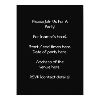 """Old building. Stone Walls with Window. 6.5"""" X 8.75"""" Invitation Card"""
