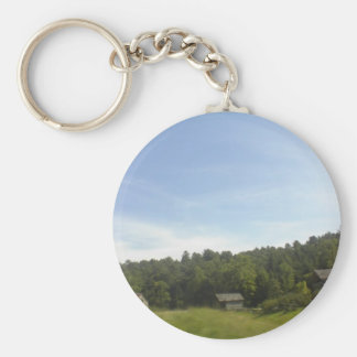 Old Buildings Key Chain