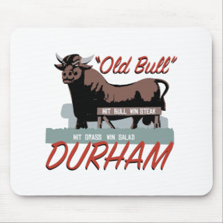 Old Bull Durham Mouse Pad