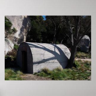 Old Bunker Flinders Island Tasmania Poster