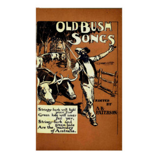 Old Bush Songs Posters