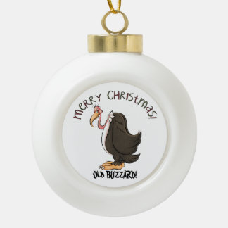 Old Buzzard Holiday Christmas ornament