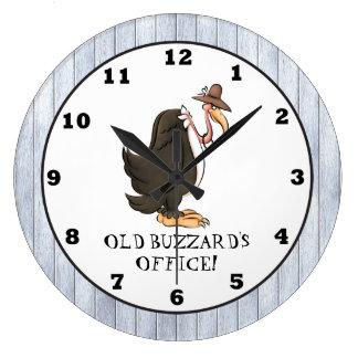 Old Buzzard s Office wall clock