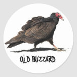 OLD BUZZARD STICKERS