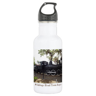 Old Cabbage Head Train Engine 18 oz Water Bottle