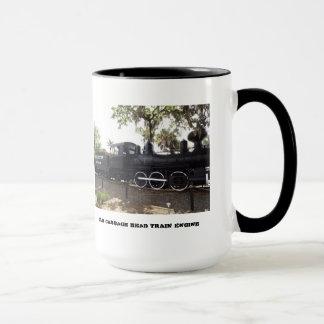 Old Cabbage Head Train Engine Bradenton Florida Mug
