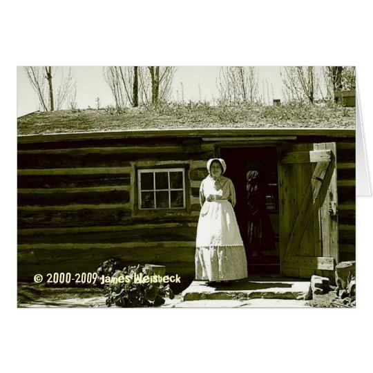 Old Cabin Card